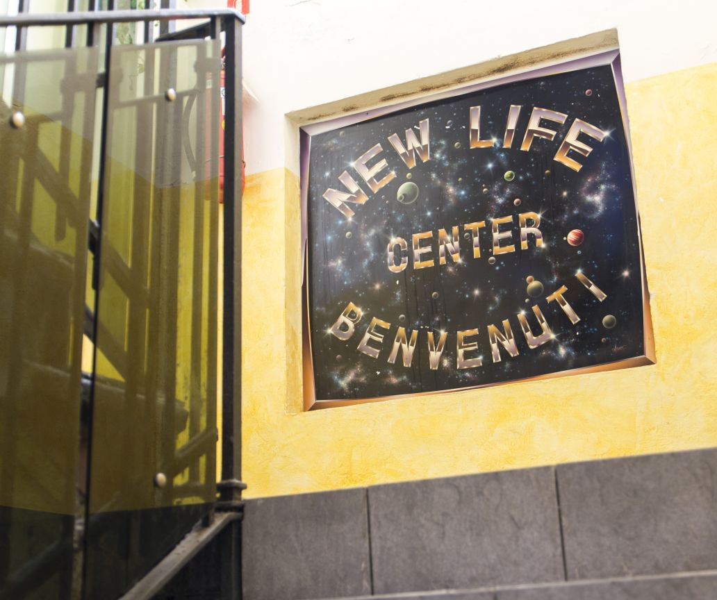 Palestra New Life Center Rho - Insegna 2